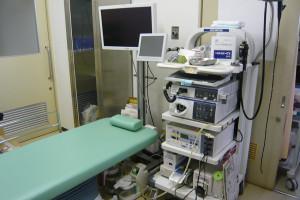 宮田内科消化器科診察室